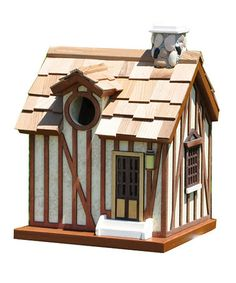 Take a look at this Guest Cottage Birdhouse by Home Bazaar on #zulily today!