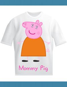 Peppa Pig Mommy Pig Adult Birthday Shirt by Lifeonawire on Etsy