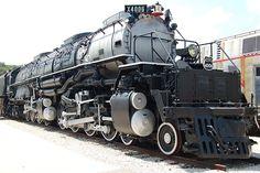 Big Boy 4006. Steam Locomotive. Паровоз Большой парень.