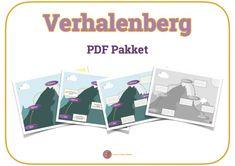 Een PDF pakket vol met werkbladen en posters om je leerlingen op weg te helpen een goed verhaal te schrijven volgens de verhalenberg