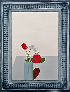 View Picture of a Still Life Which has an Elaborate Silver Frame by David Hockney on artnet. Browse more artworks David Hockney from Kenneth A. Friedman Co. David Hockney Art, Flowers For Sale, Pop Art Movement, Magazine Art, Teaching Art, Still Life, Artsy, Hollywood, Abstract