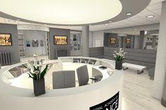 Royal Academy of Dance foyer by Push Studios.