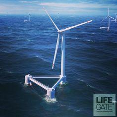 Lo scorso anno ha spirato un buon vento secondo l'Associazione europea per l'energia eolica. 293 turbine in alto mare sono state collegate alla rete elettrica per una capacità 1.165 MW. Ora il totale è di 4.995 MW distribuiti su 55 parchi.     Il Regno Unito guida la classifica dei paesi che producono più energia grazie al vento con il 60 per cento della produzione europea. Seguono Danimarca, Belgio e Germania. Continua a leggere qui: http://lifeg.at/YwvX0R