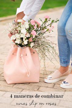 4 maneras de combinar unas slip on rosas en tu look de primavera : MartaBarcelonaStyle's Blog