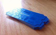 30 Creative and Inspiring Business Card Designs | The Design Inspiration. These are really amazing, however still have to think about where they end up and how they fit in someone's wallet