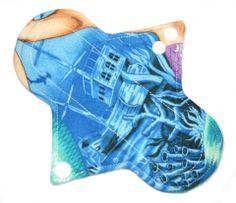 "Lady Days Cloth Pads - 7"" Cloth Panty Liner Plus"