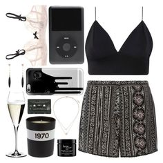 """""""Once I was 7 years old"""" by we-could-stay-young-forever ❤ liked on Polyvore featuring Dorothy Perkins, Riedel, Topshop, Elle Macpherson Intimates, Casetify, MANGO, Bella Freud and philosophy"""