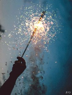 Happy 4th of July!! (with an illegal sparkler! since when1?)