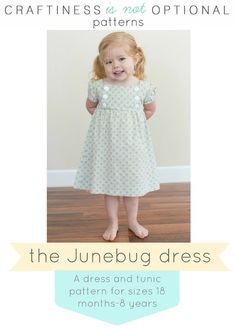 Junebug dress by Craftiness is not optional