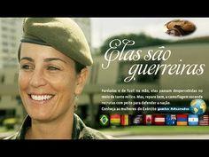Você Mulher militar e as que desejam seguir carreira no Exército segue n...