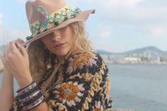 #Poncho by @freeloveibiza  <3 for @monamouribiza @ Dress To Impress Ibiza: Boho Street Ibiza