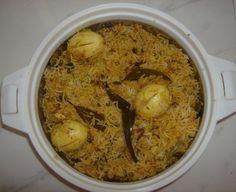 Preethi's Andhra Kitchen: Hyderabadi Egg Biryani