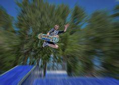 Flying skate