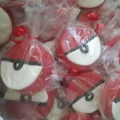 Pokemon chocolate covered oreos Favors by SweetUOffYourFeet