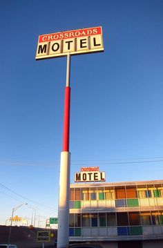 The Crossroads Motel. Albuquerque, New Mexico. They filmed a lot of Breaking Bad scenes here.