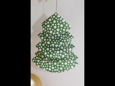 Origami Tannenbaum auch zum Basteln mit Kindern | Basteln mit der Hobbycompany Quickborn und Stampin`Up Produkten