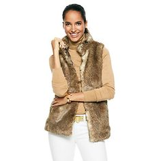 Just fell in love with the Faux Chinchilla Fur Vest for $168 on C. Wonder! Click on the image and receive 20% off your next full-price purchase and find something you love too!