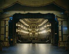 Die Vierte Wand - Buehnenbilder; Klaus Frahm die vierte Wand Theaterbühnen Fotografie