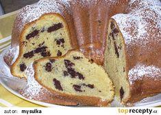 Bábovka s koka sušenkami recept - TopRecepty. Desert Recipes, Pancakes, French Toast, Food And Drink, Cooking Recipes, Sweets, Bread, Baking, Breakfast