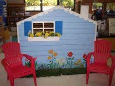 preschool dramatic play center