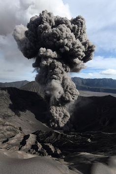 Mount Bromo, East Java, Indonesia. #volcano