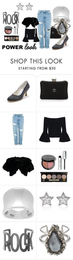 """""""Senza titolo #301"""" by miamastore-france on Polyvore featuring moda, Topshop, Alexis, Jocelyn, Bobbi Brown Cosmetics, Tressa, CZ by Kenneth Jay Lane, Steve Madden, Alexander McQueen e maurices"""