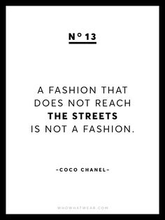 13+Rare+Coco+Chanel+Quotes+via+@WhoWhatWear