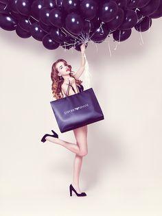 blackberry by Vladimir Zotov Themed Photography, Fashion Photography, Photography Ideas, Fashion Shoot, Blackberry, Balloons, Clip Art, Style Inspiration, Purple