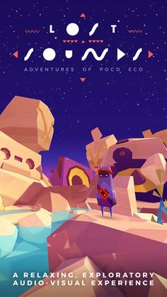 Adventures of Poco Eco - Lost Sounds: Experience Music and Animation Art in an Indie Game by POSSIBLE GAMES Kft.