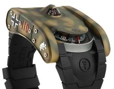 Azimuth SP-1 Landship Battle Tank Collection Watch review - Tank 110.