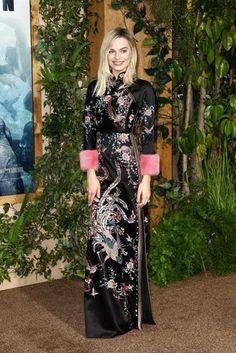 Celebrity Trend: Chinoiserie | British Vogue - Asian Fashion #asian_fashion #female #women #ladies #girls #feminine #saree #desi #anarkali #lehenga #blouse #caftan #silk #kimono #sari #bollywood #jewelry #jade #outfit #designer #couture #indian #pak #georgette #celebrity #collection