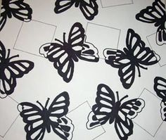 Positive/Negative Bugs: Drawing Lessons for Kids: KinderArt ® Elementary School Art Education