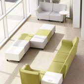 Herman Miller Swoop lounge furniture, simple and sleek. Soft Seating, Lounge Seating, Lounge Areas, Seating Plans, Seating Areas, Office Furniture Design, Lounge Furniture, Hand Chair, Modular Lounges