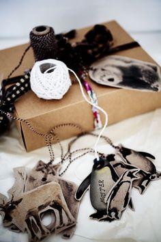 6 gift tag ideas | free printables