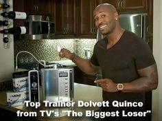 """Biggest Loser"" Top Trainer Dolvett Quince ~ Endorses Kangen Alkaline Water Dallas,Texas"