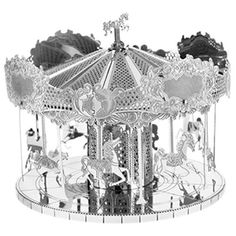 Architecture Model Kits - Fascinations Metal Earth Laser Cut Model Merry Go Round >>> Details can be found by clicking on the image.
