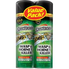 Spectracide HG-65865 Wasp And Hornet Killer Aerosol, 20 Ounce, Pack of 2         -- Read more at the image link. (This is an affiliate link) #PatioLawnGarden
