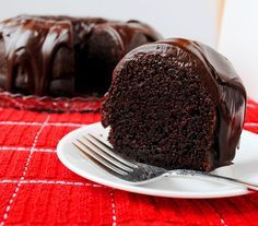 The Best Chocolate Bundt Cake. This was declared the winner by my hubby...now I just have to figure out how to make it an ice cream cake for his birthday!