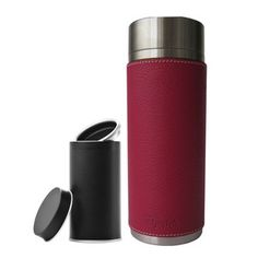 Insulated Tumbler & Tea Box Pink !! by Qwetch !!