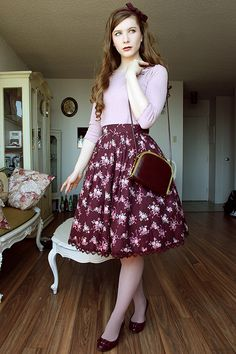 43 Ideas Vintage Outfits Classy Neckline For 2019 Lolita Fashion, Modest Fashion, Trendy Fashion, Fashion Outfits, Womens Fashion, Fashion Trends, Style Fashion, Feminine Fashion, Fashion Clothes