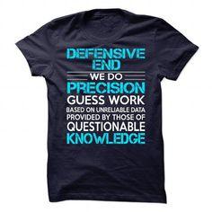 Awesome Shirt For Defensive End T Shirts, Hoodies, Sweatshirts