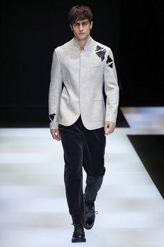 Emporio Armani | Menswear - Autumn 2016 | Look 12