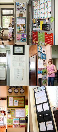 18 Back to School Family Command Center Ideas {Free Printables} - Homes.com