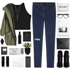 living life like i'm in a dream by pure-and-valuable on Polyvore featuring rag & bone, Alessi, GUESS, Mark/Giusti, H&M, NARS Cosmetics, St. Tropez, The New Black and FOSSIL