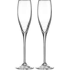 Vera Wang for Wedgwood Grosgrain Platinum Toasting Flutes - Set of 2 (300 BRL) ❤ liked on Polyvore featuring home, kitchen & dining, drinkware, clear, twin pack, wedgwood champagne flutes, platinum glassware, wedgwood glassware and platinum flute