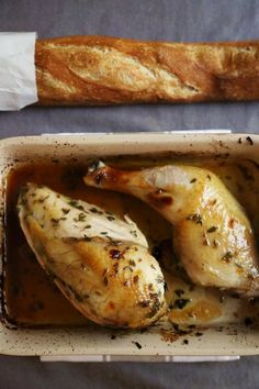 Pin for Later: Celebrate Valentine's Day with lavender chicken.