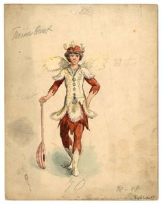 """Mardi Gras 1, Plate 017. Fashion plates, 1700-1955. The Costume Institute Fashion Plates. The Metropolitan Museum of Art, New York. Gift of Woodman Thompson (b17509853) 