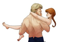 So cool! Anna and Kristoff