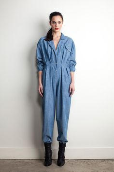 Band of Outsiders PF13  Remind me one of my mother j. j. garella 90's jumpsuit