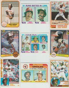 70 + Different EDDIE MURRAY cards lot Orioles Dodgers Mets HOF glossy Sportflics #BaltimoreOrioles